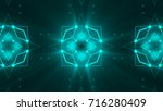 abstract background with... | Shutterstock . vector #716280409