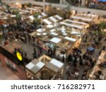 blur market in thailand. | Shutterstock . vector #716282971