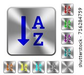alphabetically ascending... | Shutterstock .eps vector #716284759