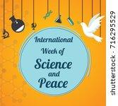 international week of science... | Shutterstock .eps vector #716295529