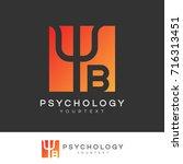 psychology initial letter b...   Shutterstock .eps vector #716313451