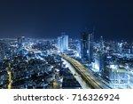 Tel Aviv Skyline At Night ...