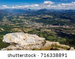 elevated view of the city of... | Shutterstock . vector #716338891
