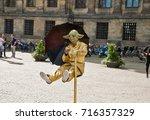 amsterdam  netherlands  ... | Shutterstock . vector #716357329