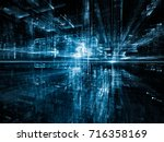 digital city series. creative... | Shutterstock . vector #716358169