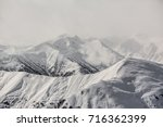 mount snow clouds | Shutterstock . vector #716362399