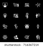 flat design icons set. business ...