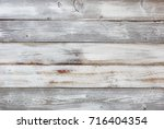 reclaimed rustic wood... | Shutterstock . vector #716404354