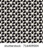abstract seamless vector...   Shutterstock .eps vector #716409004