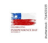 chile national day | Shutterstock .eps vector #716423155