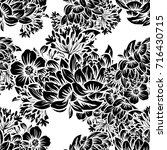 abstract elegance seamless... | Shutterstock . vector #716430715