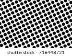 comic pattern. halftone... | Shutterstock .eps vector #716448721