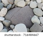 Pebble Stones Heart Made From...