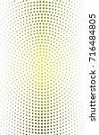 light green  yellow pattern of... | Shutterstock . vector #716484805