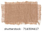 texture sack background with... | Shutterstock . vector #716504617