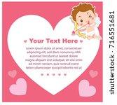 vector illustration of cute... | Shutterstock .eps vector #716551681