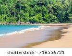 magnificent sandy beach in khao ... | Shutterstock . vector #716556721