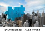 merger and acquisition business ... | Shutterstock . vector #716579455