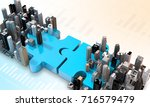 merger and acquisition business ... | Shutterstock . vector #716579479