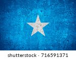 flag of somalia or somali flag... | Shutterstock . vector #716591371