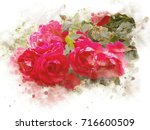 illustration of water colors...   Shutterstock . vector #716600509