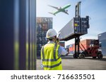 foreman control loading... | Shutterstock . vector #716635501