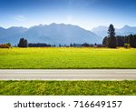 Alpine Meadow And Road ...