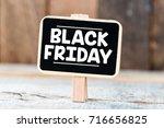 black friday | Shutterstock . vector #716656825