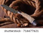hunter knives   Shutterstock . vector #716677621