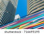miami  florida   august 17 ... | Shutterstock . vector #716695195