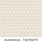 3d illustration of a seamless... | Shutterstock . vector #716701075