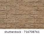 a close up of brown toned...   Shutterstock . vector #716708761