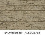 a close up of brown toned...   Shutterstock . vector #716708785