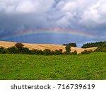 Beautiful Colorful Rainbow Ove...