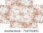 dark brown grunge background.... | Shutterstock . vector #716741851