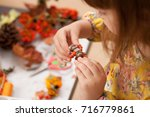 souvenirs from natural... | Shutterstock . vector #716779861