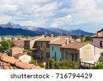 view from the window. small...   Shutterstock . vector #716794429