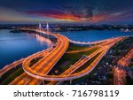 road panorama. road without... | Shutterstock . vector #716798119