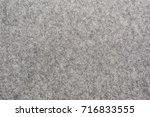 texture knitted grey fabric | Shutterstock . vector #716833555