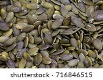 background made of shelled... | Shutterstock . vector #716846515
