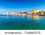 porec town and harbor on...   Shutterstock . vector #716865175