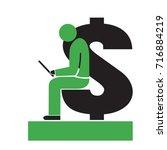 business education passive... | Shutterstock .eps vector #716884219