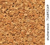 Small photo of tile able brown cork texture useful as a background