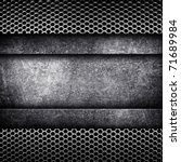 metal template background | Shutterstock . vector #71689984