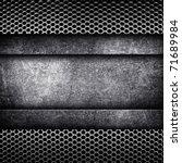 metal template background | Shutterstock . vector #71689984