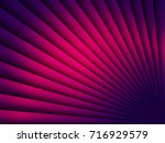 bright violet striped... | Shutterstock .eps vector #716929579