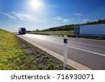 truck on the road | Shutterstock . vector #716930071