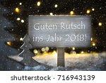 white christmas tree  guten... | Shutterstock . vector #716943139