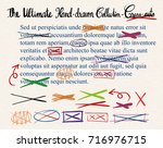 different designs of ultimate... | Shutterstock .eps vector #716976715