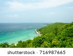 view point at koh lan island... | Shutterstock . vector #716987665